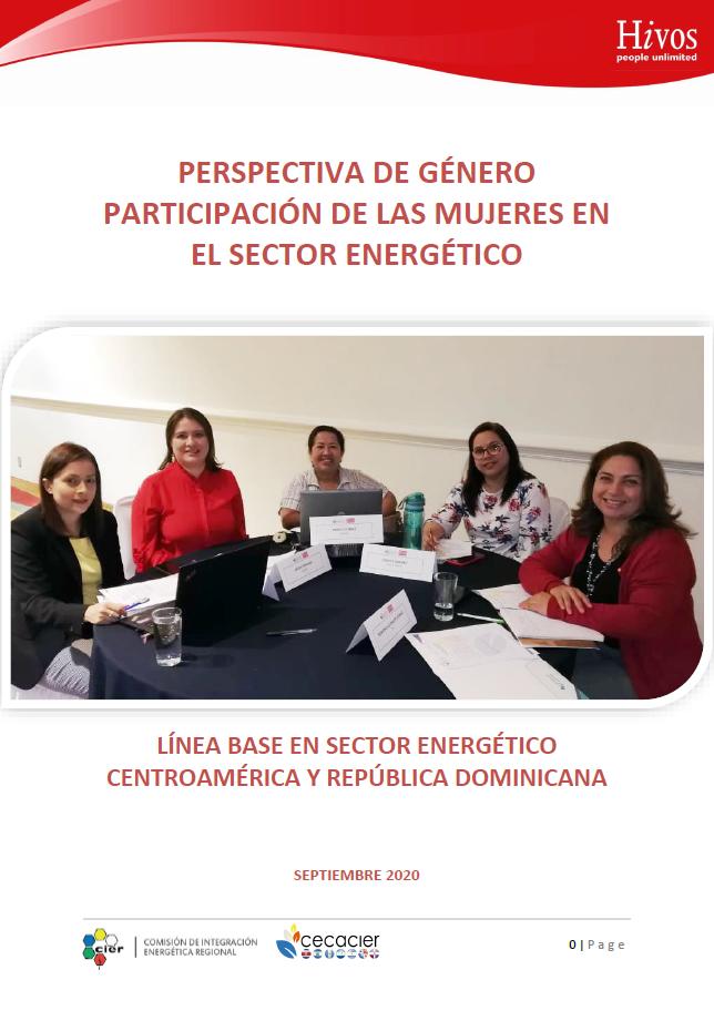 Perspectiva de Género - Participación de las mujeres en el sector energético