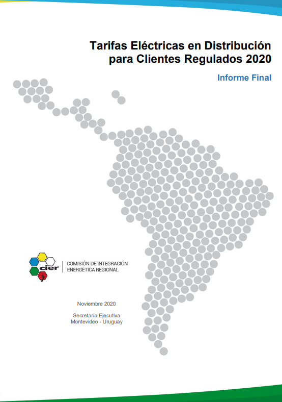 Tarifas Eléctricas en Distribución para Clientes Regulados 2020 - Informe Final