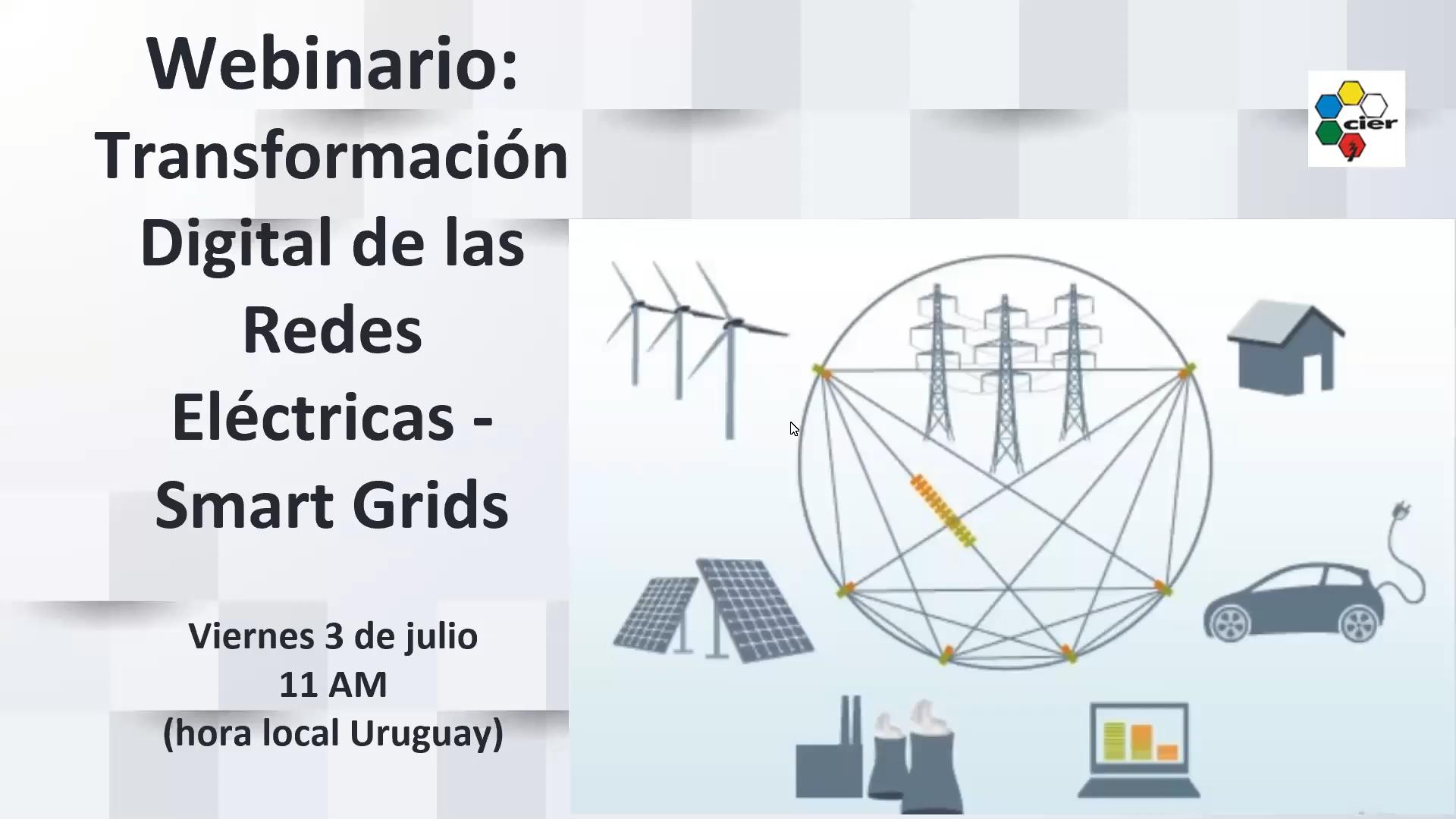 Transformación digital de las redes eléctricas - Smart grids